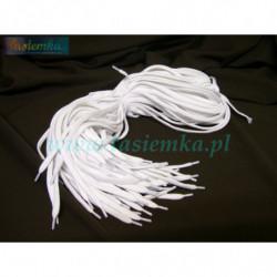 sznurowadła płaskie białe 100 kod 1100
