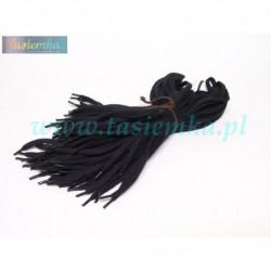 sznurowadła płaskie czarne 70 kod 3070