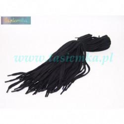 sznurowadła płaskie czarne 80 kod 7080