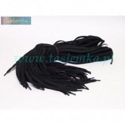 sznurowadła płaskie czarne 100 kod 1100