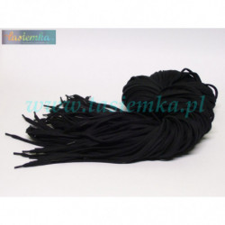 sznurowadła płaskie czarne 140 kod 3140