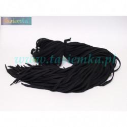 sznurowadła płaskie czarne 160 kod 3160