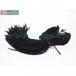 sznurowadła okrągłe grube czarne 90 kod 1090