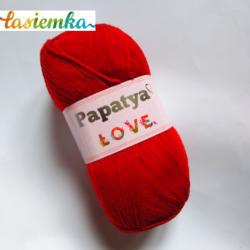 PAPATYA LOVE  kol 3080 czerwony