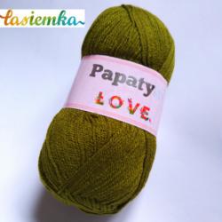 PAPATYA LOVE kol 6950 oliwka