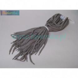 sznurowadła płaskie szary jasny 90 kod 1090