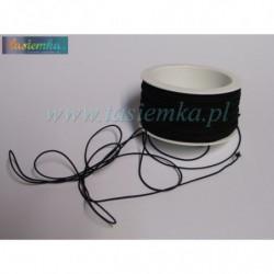 guma kapeluszowa 1 czarna A7001 kod 2007