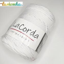 sznurek bawełniany 5mm LaCorda kol 100 Biały