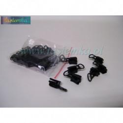 sznurowadła okrągłe grube czarne 120 kod 1120