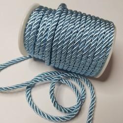 Sznurek Skręcany 5 mm niebieski 333 15y