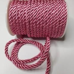 Sznurek Skręcany 5 mm różowy 146 15y