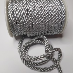 Sznurek Skręcany 5 mm Szary 007 15y