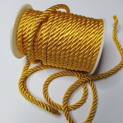 Sznurek Skręcany 5 mm Żółty 645 15y